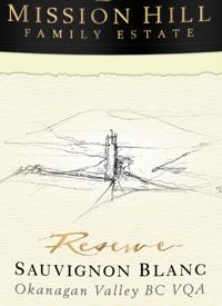 Mission Hill Reserve Sauvignon Blanctext