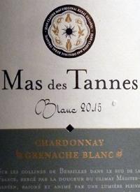 Mas des Tannes Classique Blanc Chardonnay Grenache Blanctext