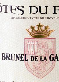 Brunel de la Gardine Cotes du Rhonetext