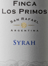 Finca Los Primos Syrahtext