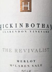 Hickinbotham Clarendon Vineyard The Revivalist Merlottext