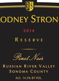 Rodney Strong Pinot Noir Reserve