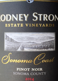 Rodney Strong Pinot Noir Sonoma Coasttext