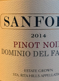 Sanford Pinot Noir Dominio del Falcontext