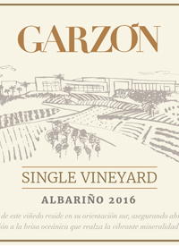 Bodega Garzón Single Vineyard Albariñotext