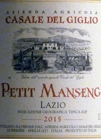 Casale del Giglio Petit Mansengtext