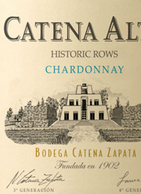 Catena Alta Historic Rows Chardonnaytext