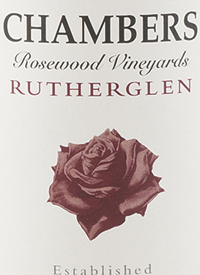 Chambers Rosewood Vineyards Rutherglen Muscat