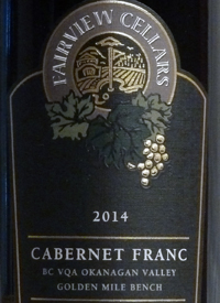 Fairview Cellars Cabernet Franc Premier Seriestext