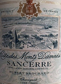 Hubert Brochard Cotes des Monts Damnés Sancerretext