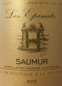 Les Epinats Saumur Cabernet Franc