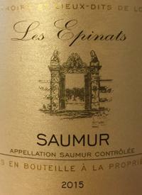 Les Epinats Saumur Cabernet Franctext