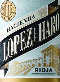 Hacienda Lopez de Haro Rioja Crianzatext