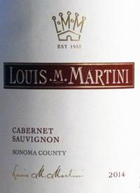 Louis M. Martini Cabernet Sauvignon Sonomatext