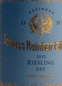 Schloss Reinhartshausen Rheingau Riesling Drytext