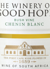 The Winery of Good Hope Chenin Blanctext