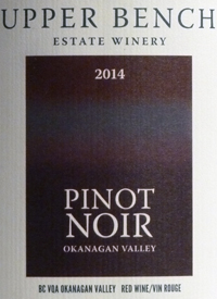 Upper Bench Pinot Noirtext