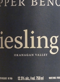 Upper Bench Limited Release Rieslingtext