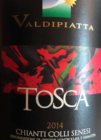 Valdipiatta Tosca Chianti Colli Senesitext