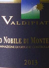 Valdipiatta Vino Nobile de Montepulcianotext