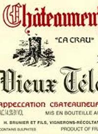 Domaine du Vieux Télégraphe La Crautext