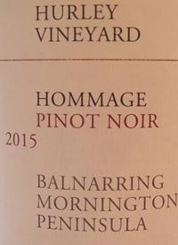 Hurley Hommage Pinot Noirtext