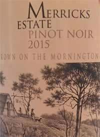 Merricks Estate Pinot Noirtext