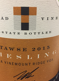 Tawse Riesling Quarry Road Vineyardtext