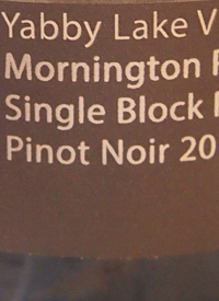Yabby Lake Block 6 Pinot Noirtext