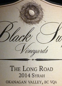 Black Swift The Long Road Syrah