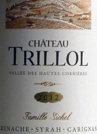 Château Trillol Grenache Carignan Syrahtext