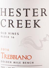 Hester Creek Old Vines Block 16 Trebbiano
