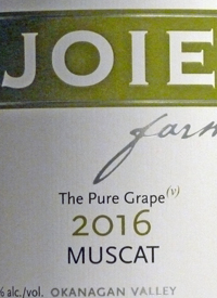 JoieFarm Muscat The Pure Grape (v)text