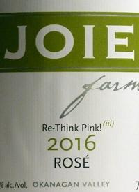 JoieFarm Re-Think Pink! Rosé (iii)text