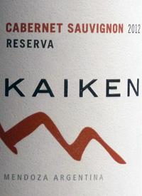 Kaiken Cabernet Sauvignon Reservatext