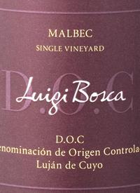 Luigi Bosca Malbec Single Vineyard DOCtext