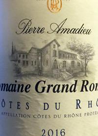 Pierre Amadieu Domaine Grand Romane Côtes du Rhône Blanctext