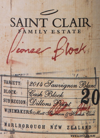 Saint Clair Pioneer Block Sauvignon Blanctext