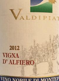 Valdipiatta Vino Nobile de Montepulciano Vigna d'Alfierotext