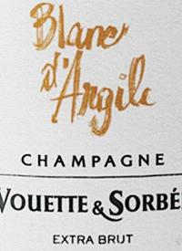 Vouette & Sorbée Blanc d'Argile Extra Brut