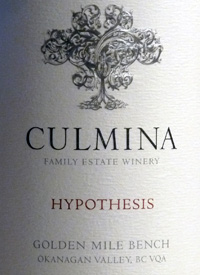 Culmina Family Estate Hypothesistext