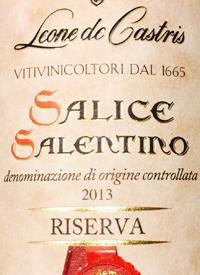 Leone de Castris Salice Salentino Riservatext