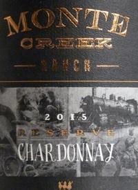 Monte Creek Ranch Reserve Chardonnay