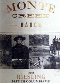 Monte Creek Ranch Rieslingtext
