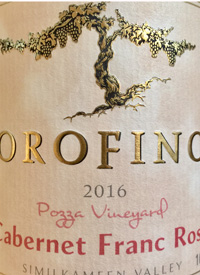 Orofino Vineyards Cabernet Franc Rosè Pozza Vineyardtext