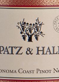Patz & Hall Sonoma Coast Pinot Noirtext