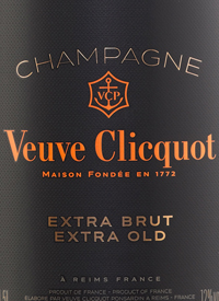 Veuve Clicquot Extra Brut Extra Oldtext
