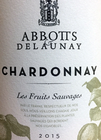 Abbott's and Delaunay Chardonnay Les Fruits Sauvagestext