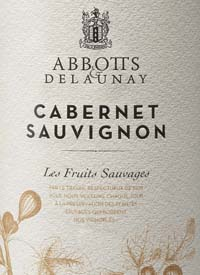 Abbott's and Delaunay Cabernet Sauvignon Les Fruits Sauvagestext