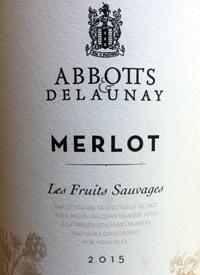 Abbott's & Delaunay Merlot Les Fruits Sauvages